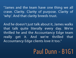 Paul Dunn on Accountancy Edge