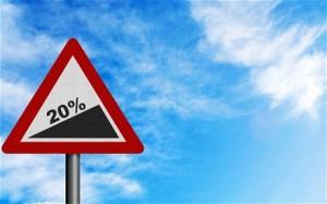 Warning! 20%